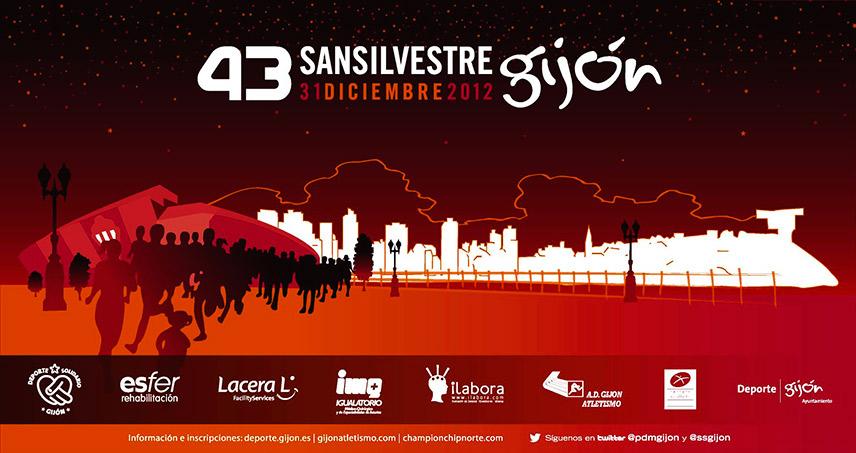 iLabora patrocina la San Silvestre de Gijón del 2012