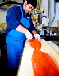 Pescadería: Corte y Preparación