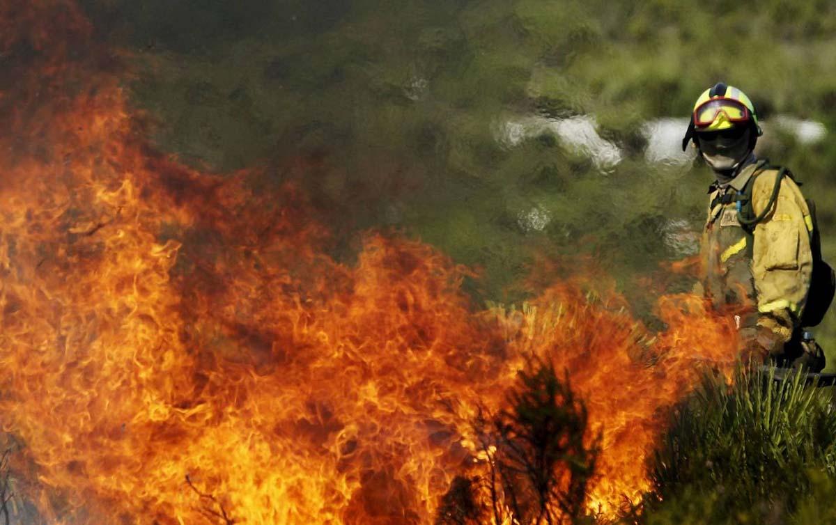 La extinción de los incendios forestales