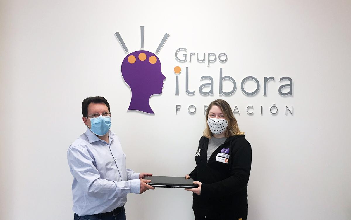 El Grupo iLabora Formación dona equipos informáticos a la Fundación Mar de Niebla